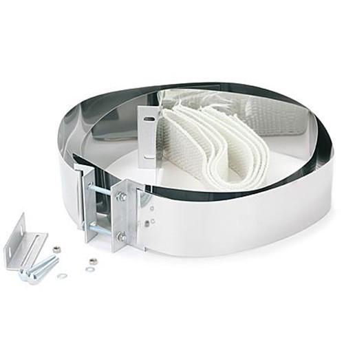 Klemmbänder, 2 Stück, passend für Rohre dn 260-400 mm