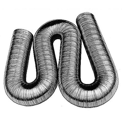 Alu-Flexrohr, ø 125 mm, Länge 620 - 2500 mm