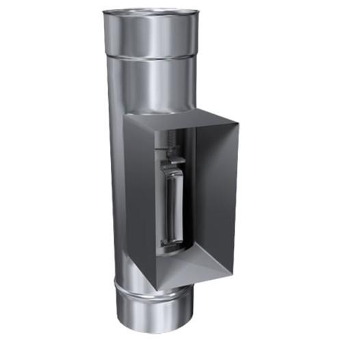Prüföffnung feuchteunempfindlich (FU) mit Kasten, ø 150 mm