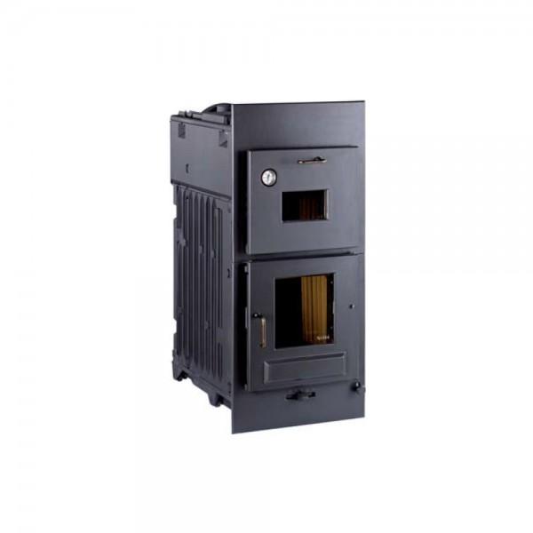 Kachelofen-Einsatz Leda Gourmet H71 (10,0 kW) mit Back-, Brat und Kochfach