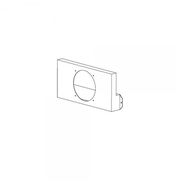 Leda Verbrennungsluft-Anschlusskasten inkl. Blinddeckel für den Außenluftanschluss nach hinten