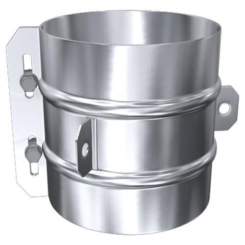 verstärktes Klemmband, statisch für Abspannseile, Edelstahl, ø 120 mm (180 mm)