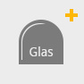 Funkenschutz Glas